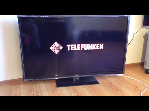 TELEFUNKEN TF-LED 50S7T2 МИНИ ОБЗОР ТЕЛЕВИЗОРА