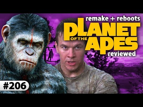 Review Of The Remake Of The Planet Of The Apes And Also The Reboot Trilogy