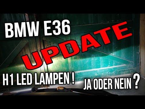 BMW E36 - H1 LED Lampen ( Leuchtmittel )  UPDATE!