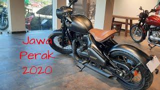 Jawa Perak. Beautiful Modern Classic Motorcycle