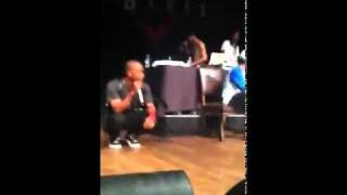 Tyler The Creator & Frank Ocean Diss Chris Brown Before Performing She