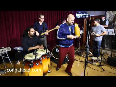 Bio Ritmo brought their unusual style of salsa to the congahead.com studio to perform La Verdad