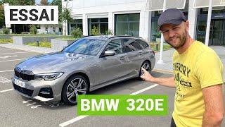 Essai BMW 320e Touring : pour les sceptiques de l'électrique