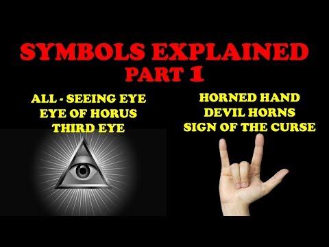 Dark Symbolism and Hand Gestures - Virily