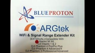 Установка ARGtek WiFi Range Extender Kit в пульт Xiaomi Mi Drone 4K (полное руководство).