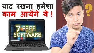 7 Most Useful Free Software Every Computer user Must Know - Download this Video in MP3, M4A, WEBM, MP4, 3GP