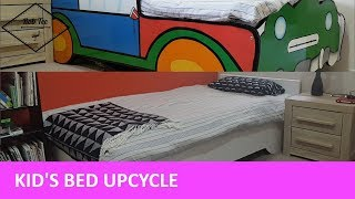 Upcyling A Kids Bed