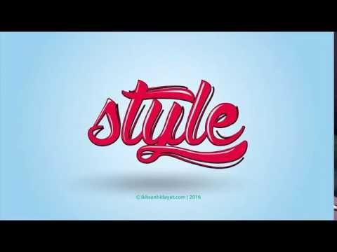Typography Style Logo - illustrator tutorials - ActionNews ABC