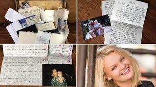 Teen Cries Reading Letters From Time Capsule That Family Wrote 18 Years Ago