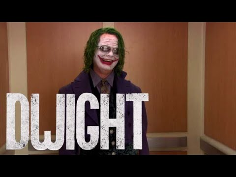 EDIT LEVEL OVER 9000: JOKER trailer featuring Dwight Schrute