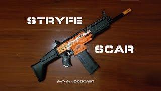 Nerf SCAR mod – Stryfe / build