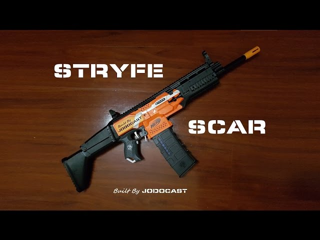 Community Nerf Hk416 Stryfe hk416 nerf conversion kit#