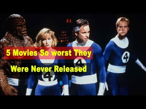 5 Movies So Bad They Were Never Released