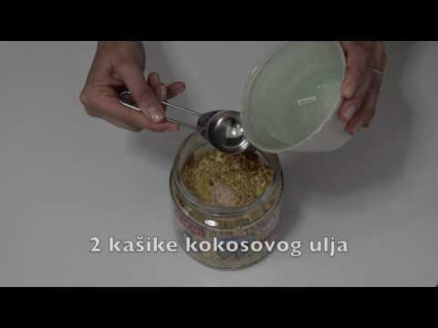 Nepečena granola- VIDEO RECEPT