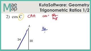 KutaSoftware: Geometry- Trigonometric Ratios Part 1