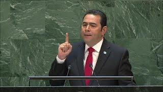 🇬🇹 Guatemala - President Addresses General Debate, 74th Session