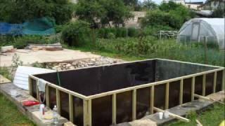 Fiberglass Swim Pool building in Latvia