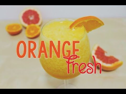 Video Easy Orange Fresh Juice Using a Blender