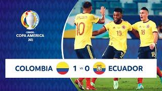 HIGHLIGHTS COLOMBIA 1 - 0 ECUADOR | COPA AMÉRICA 2021 | 13-06-21