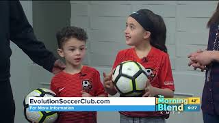 Evolution Soccer Club President on The Morning Blend