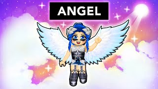 We became ANGELS in Roblox!