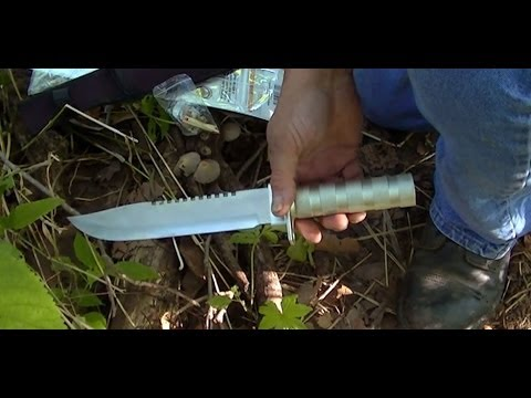 Harbor Freight 8 Inch Survival/Hunting Knife Review