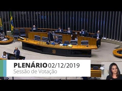 PLENÁRIO - Sessão Deliberativa - 02/12/2019 - 18:00