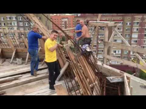 Заливання куполів, липень 2018 р. Б.