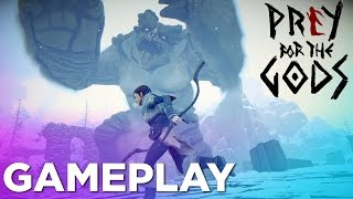 PREY FOR THE GODS Pre-Alpha Gameplay — Shadow of the Colossus