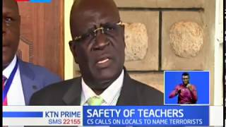 CS Magoha calls on Garissa Locals to name terrorists as he condemns recent attacks