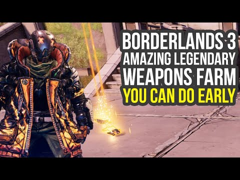 Borderlands 3 Legendary Weapons Farm YOU CAN DO EARLY (Borderlands 3 Early Legendaries)