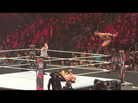 Finn Balor Hits Coup de Grace on Kevin Owens from Ladder at