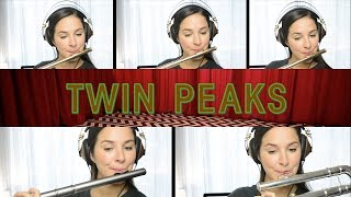 Twin Peaks Theme on Flute + Sheet Music!