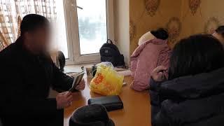 Торговля людьми в Алматы и Астане - оперативное видео МВД