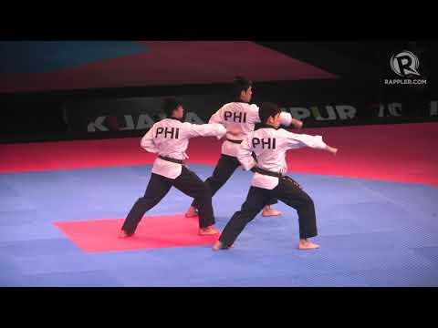SEA Games 2017: Men's team poomsae gold medal finish