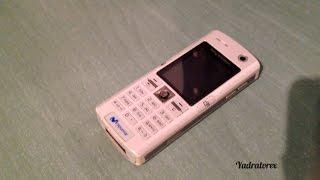Sony Ericsson K608(i) retro review (old ringtones, themes, games...)