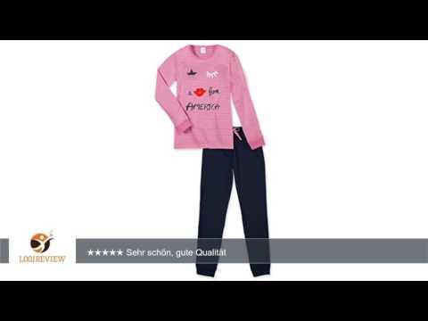 Schiesser Mädchen Zweiteiliger Schlafanzug Anzug Lang   Erfahrungsbericht/Review/Test