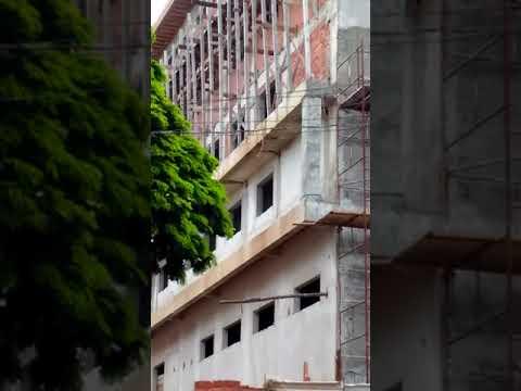 Prédio uma construção fantástica está sendo construída aqui em Astorga PR vai ficar linda depois que