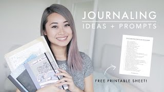 How to Journal + 30 Journaling Prompts for Self Discovery