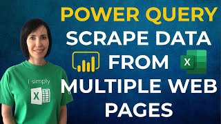 Scrape Data from Multiple Web Pages with Power Query