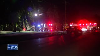 Stove causes fire near Wrightstown