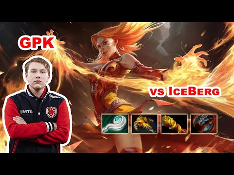 Gpk Lina Mid - DOTA 2 7.27D - VP.Prodigy - Dota2 Gameplay [Learn To PRO]