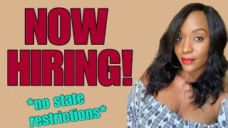 $15 Hourly Work From Home Job, No State Restrictions!