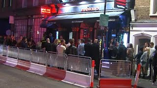 video: Crowds gather for party weekend ahead of 'rule of six' restrictions