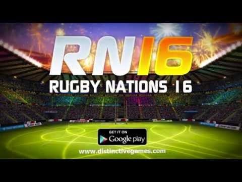 Vidéo Rugby Nations 16