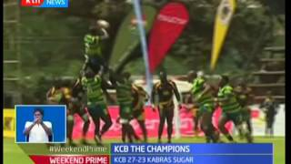 Kabras 7's fall to pumped up KCB who retain their Enterprise Cup title