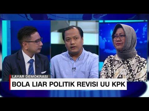 Membaca Risiko Politik Presiden Jika Dukung Revisi UU KPK #LayarDemokrasi