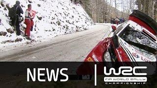 WRC - MonteCarlo2016 Stage 1 to 5 News