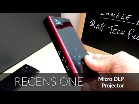 Un proiettore ed un mini PC Android nel palmo della mano??? Recensione Micro DLP Projector