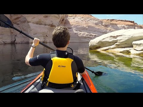 Video Kayaking - Antelope Canyon (Lake Powell)